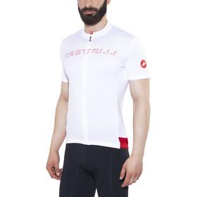 Castelli Prologo V Bike Jersey Shortsleeve Men white